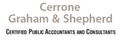 Cerrone, Graham and Shepherd